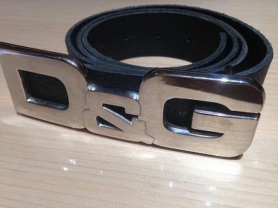 D&G ドルチェアンドガッバーナ メンズベルト レザー 黒 #85 西日本 宅配買取